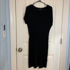Banana Republic • Black Mini T-shirt Dress